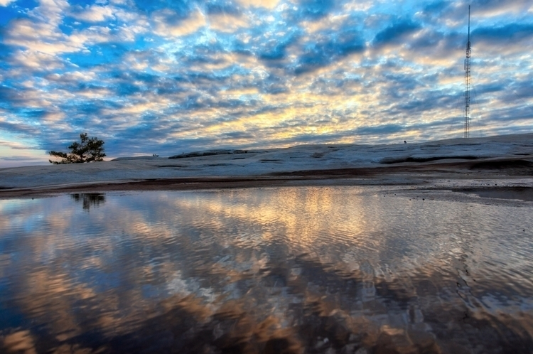 reflecting puddles top - photography - brxdlxy | ello