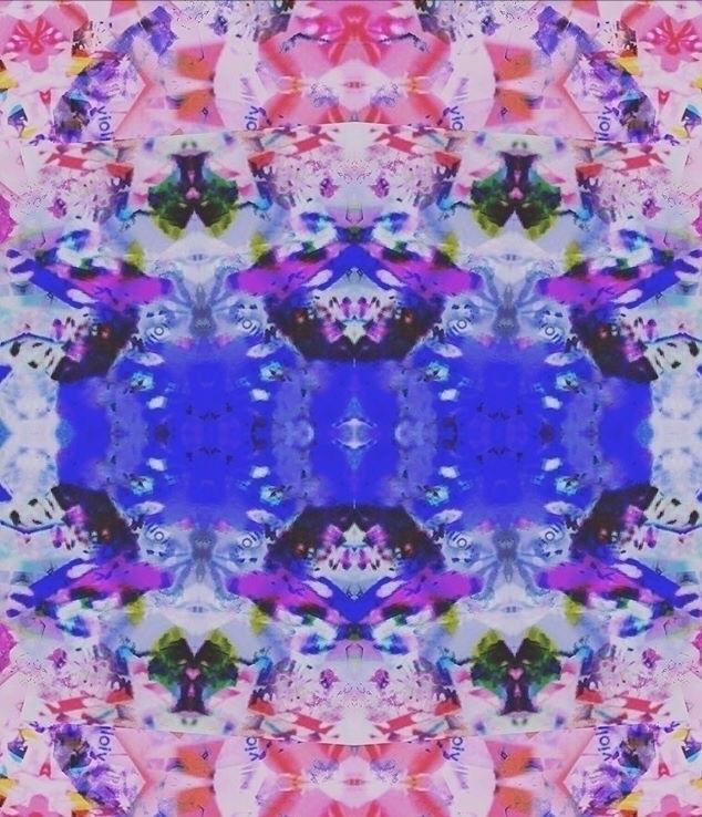 Psychonautical Textile Design - ursa_janeen | ello