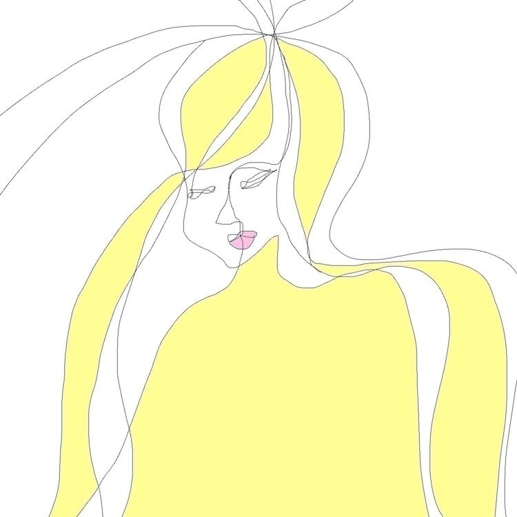 Daily practice - girl, drawslim - zoevvu | ello