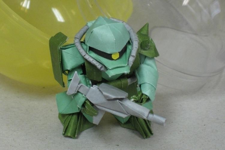 Incredible Mobile Suit Gundam O - origamidotme   ello