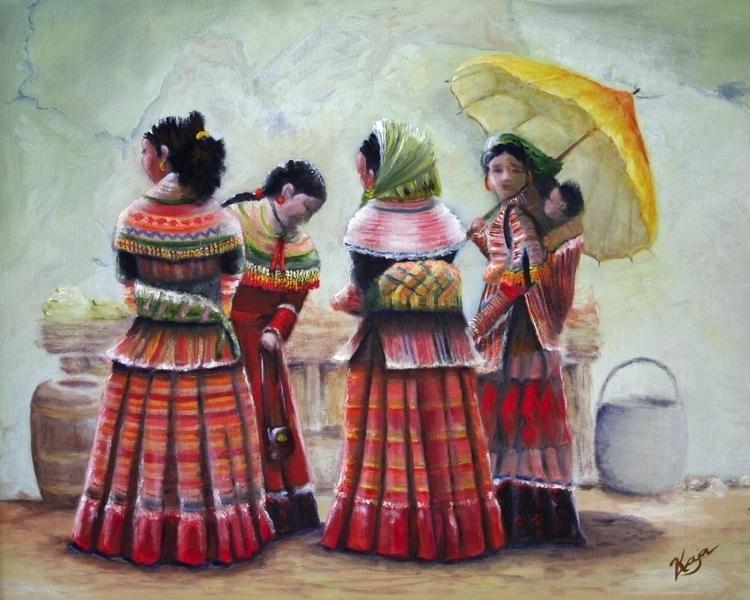 Peruvian Ladies. 2012 - oldpainter   ello