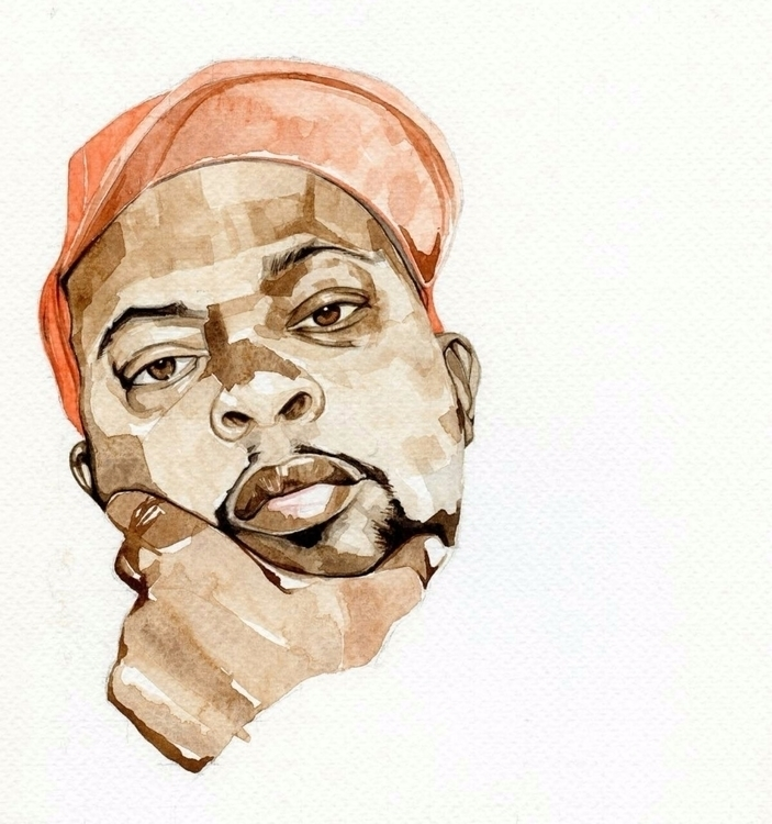 RIP Phife Diggy watercolour - ATCQ - nnah | ello