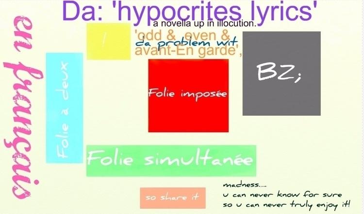 Da: 'hypocrites paroles' roman  - dabadends | ello