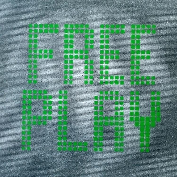 Green Arcade Game Type - Free P - jellemulder   ello