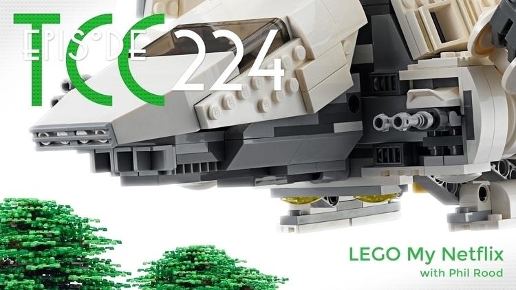 Citadel Cafe 224: LEGO Netflix  - joelduggan | ello
