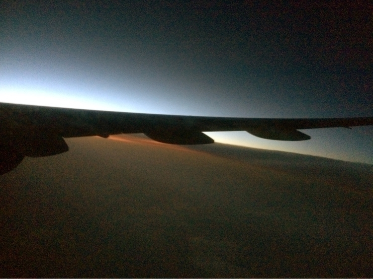 Flight Tokyo - sunrise, travel, japanairlines - jimvanover | ello