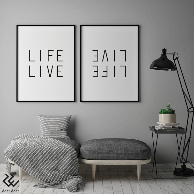 Life Live - Art Print - art, design - deardear   ello