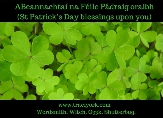 Beannachtaí na Féile Pádraig or - traciyork | ello
