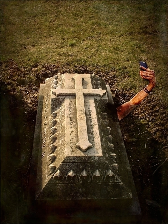 death - selfie - grafismo | ello