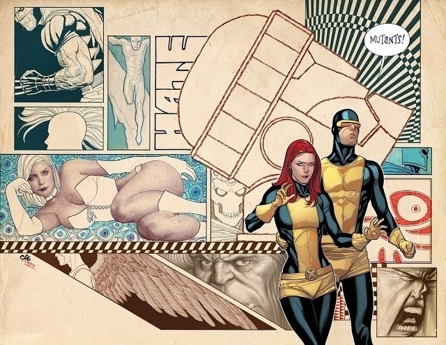 xmen, jeangrey, emmafrost, cyclops - astroverted | ello