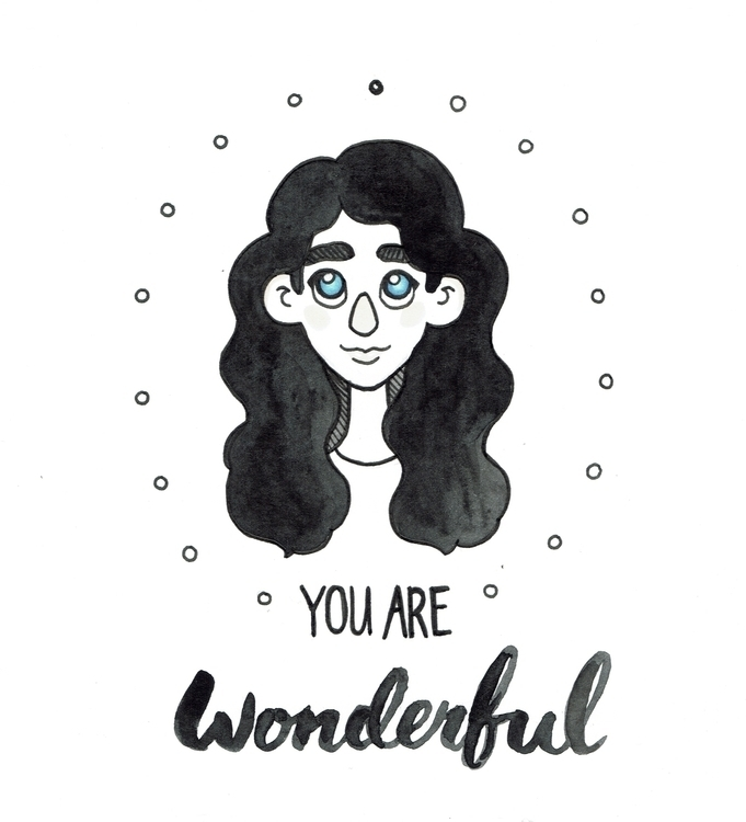 Whipped illustration gift/card  - eatsbiscuits | ello