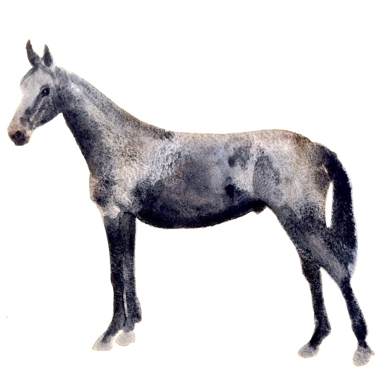 watercolor, akvarell, paper, neutraltint - vasagatan | ello