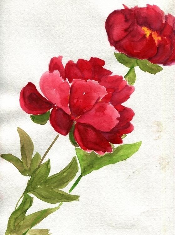 Fire Bombs Watercolor Paper 201 - havekat | ello