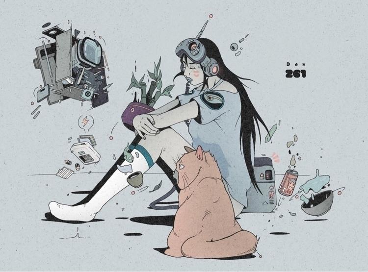 Day 261/365: Robot Alchemist-is - 1sles   ello