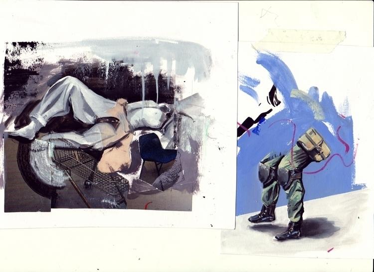 studies 2, 3, 4 Collage, photog - jlanthony | ello