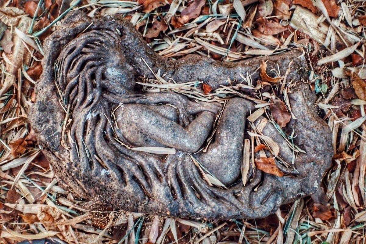 ? - hidden garden person long t - alexandrascotch | ello