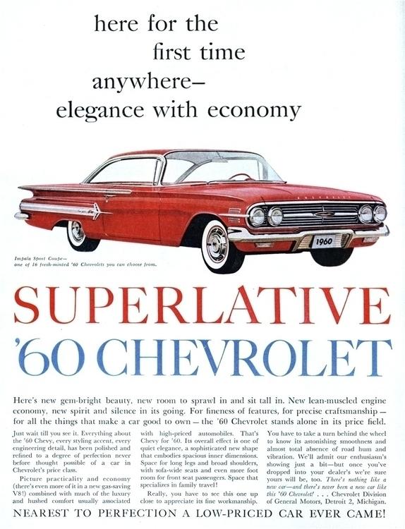 Elegance Economy 1960 Chevrolet - kohoso   ello