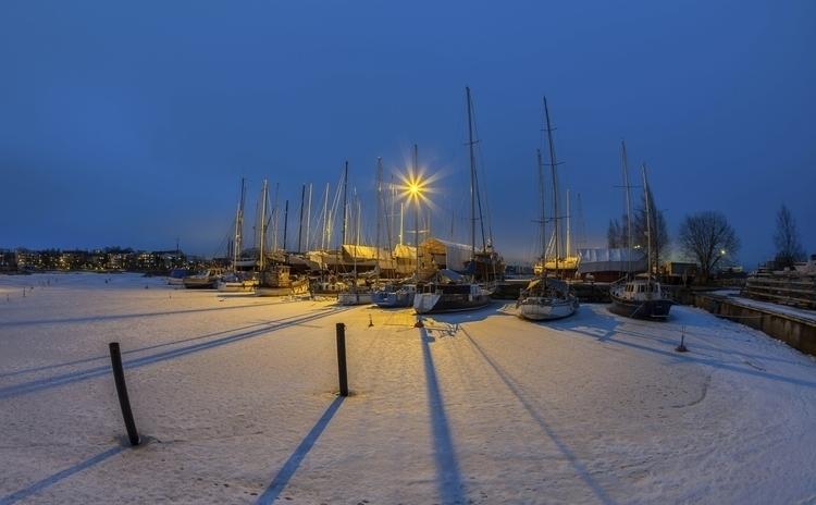 harbour Helsinki - photography, night - anttitassberg | ello
