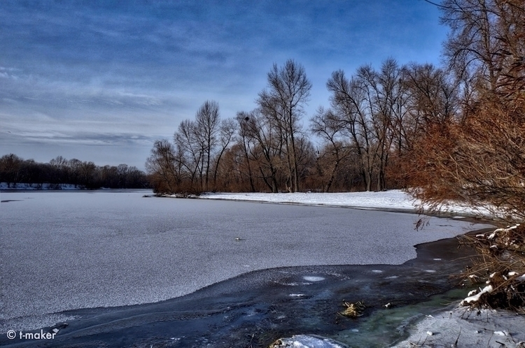Thin Ice River   Flickr: Devian - t-maker   ello