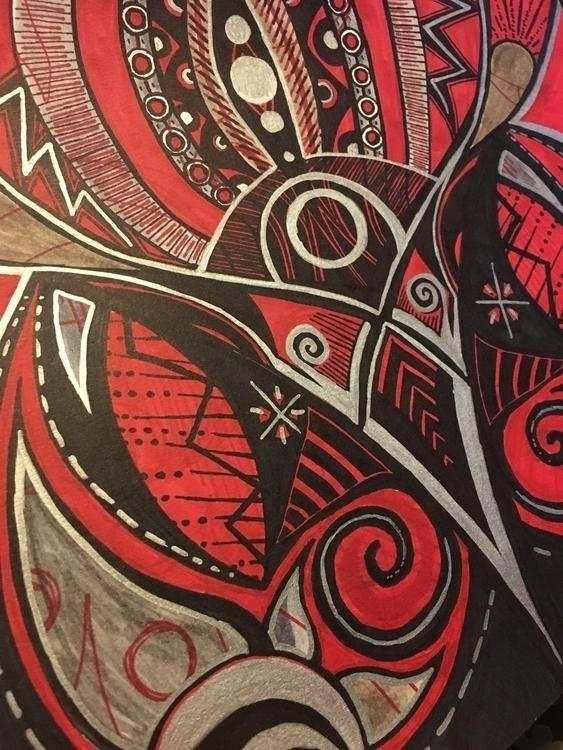 warrior paint pens dry - sharpie - saltyerica | ello