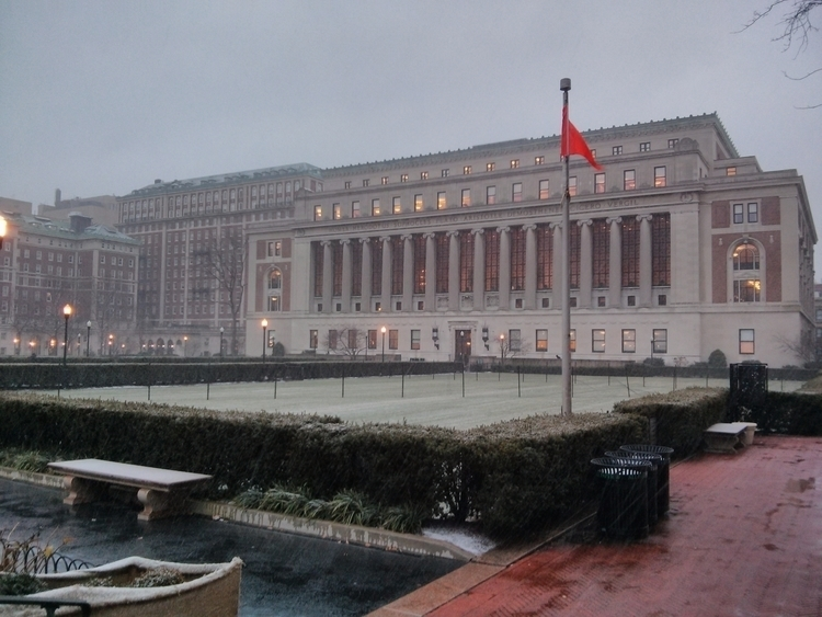 Library, Columbia University - azabaz   ello