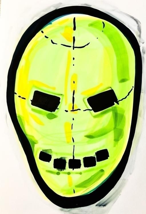 Mask 2 Mirko Credito - art, mask - mirkocredito | ello