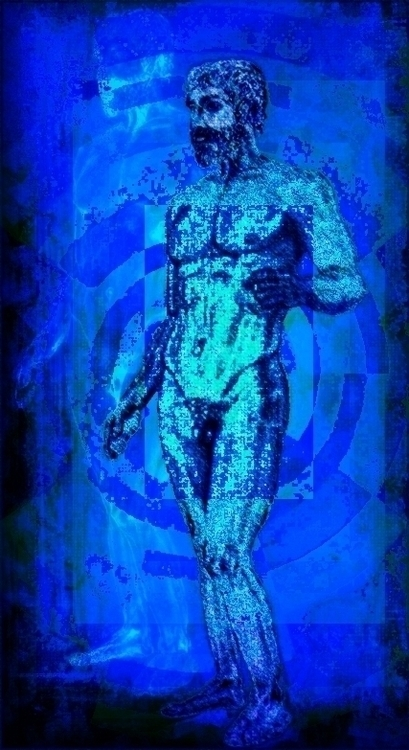 Rgb Project BLUE: Bronzes Riace - jesustorradotoro | ello