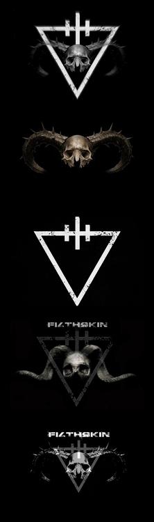 logo designs Filthskin - dark#darkindustrial#deathindustrial - filthskin | ello
