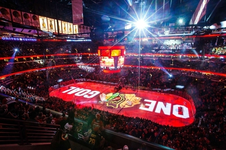 United Center, Chicago Blackhaw - fjgaylor | ello