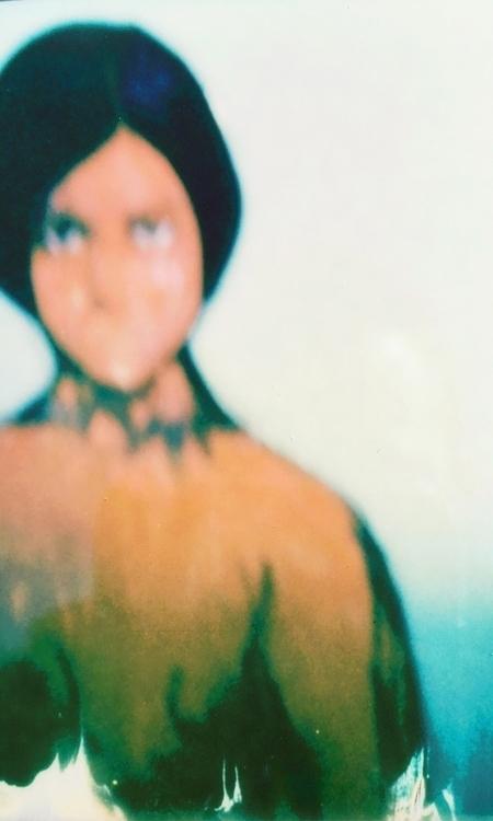 Mercy - Polaroid, art, portrait - jkalamarz | ello