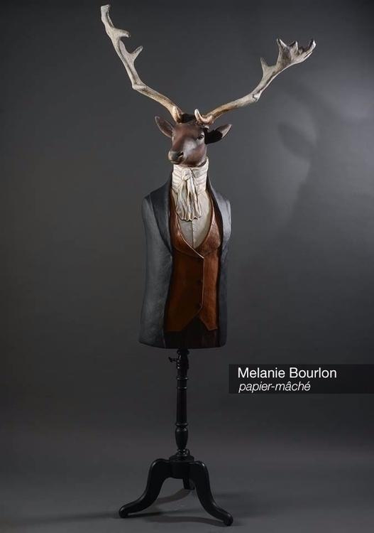 Discover papier-maché sculpture - velvetandpurple | ello