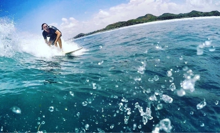 Surfing Lombok - margiesboy | ello