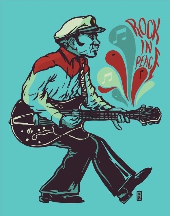 Rock Peace, Chuck Berry - thomcat23 | ello