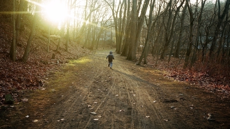 Backlit Boy Running - ellophotography - jasonfarrar | ello