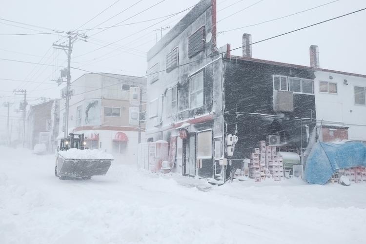 blizzard, Hokkaido, Japan, snow - nickpitsas | ello