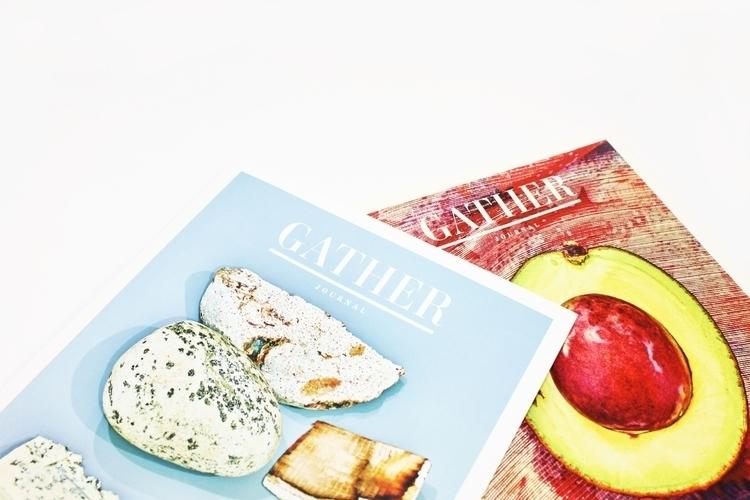 GATHER Journal bi-annual recipe - wonceco | ello