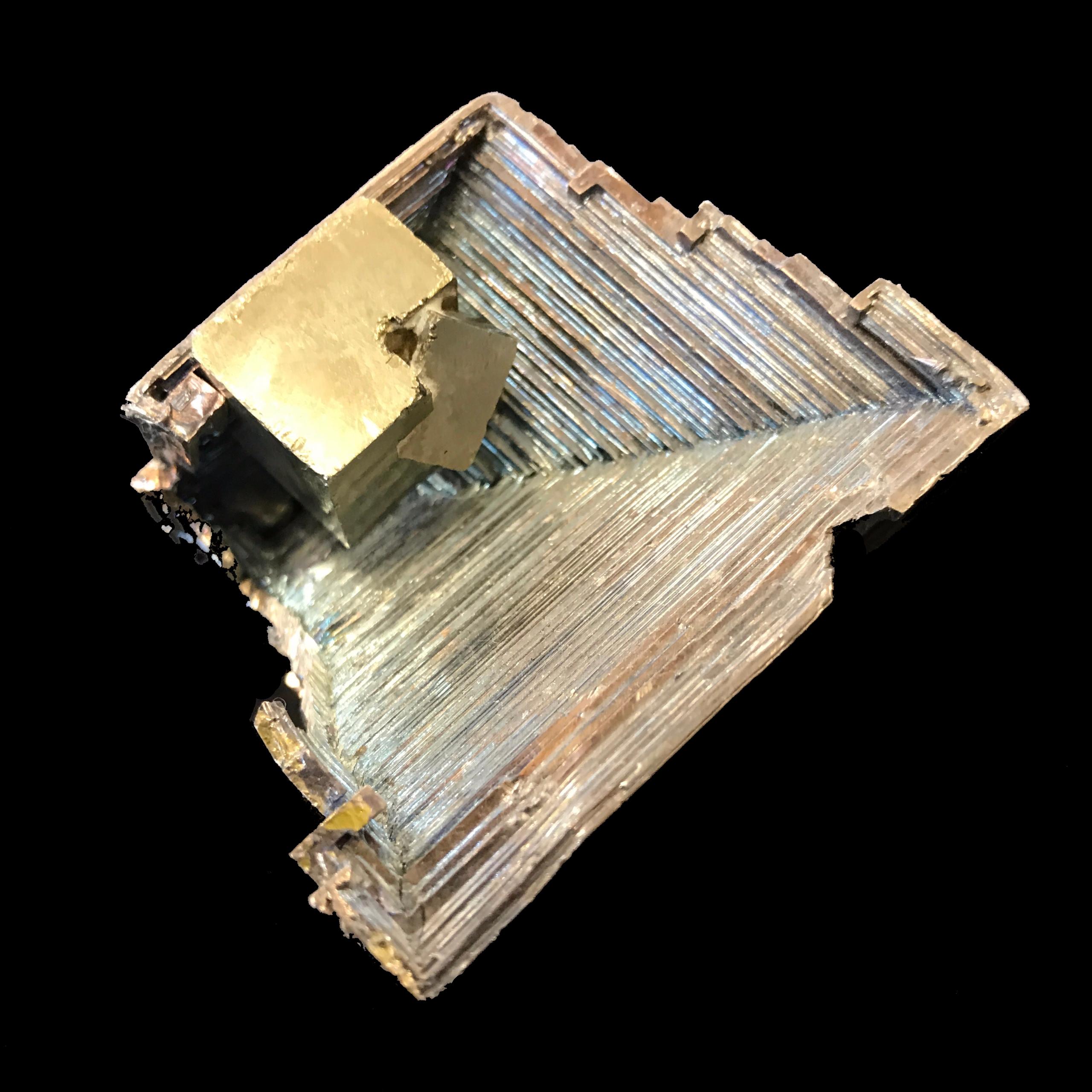 pyrite meets bismuth - charles_3_1416 | ello