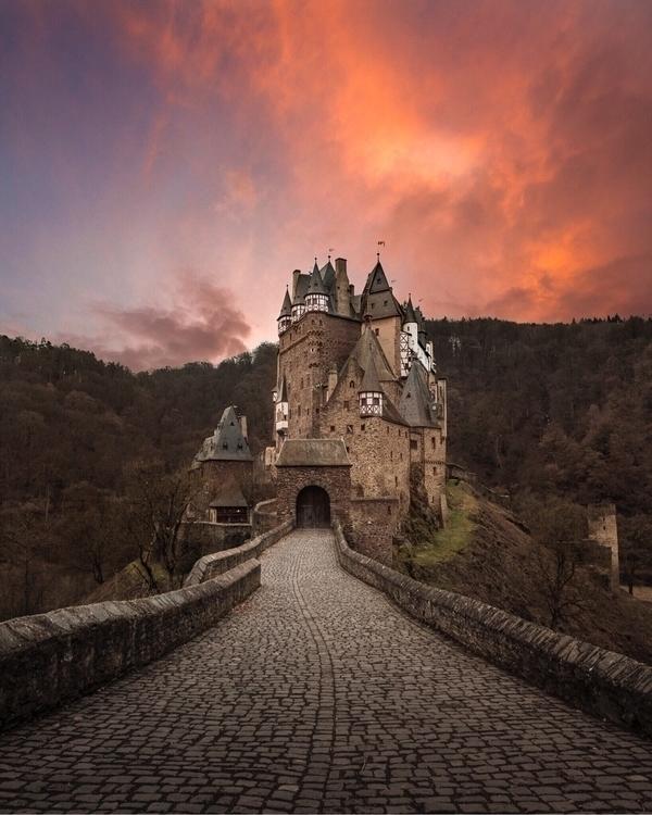 legendary Eltz Castle - wander, wanderlust - rubenvanvreckem | ello
