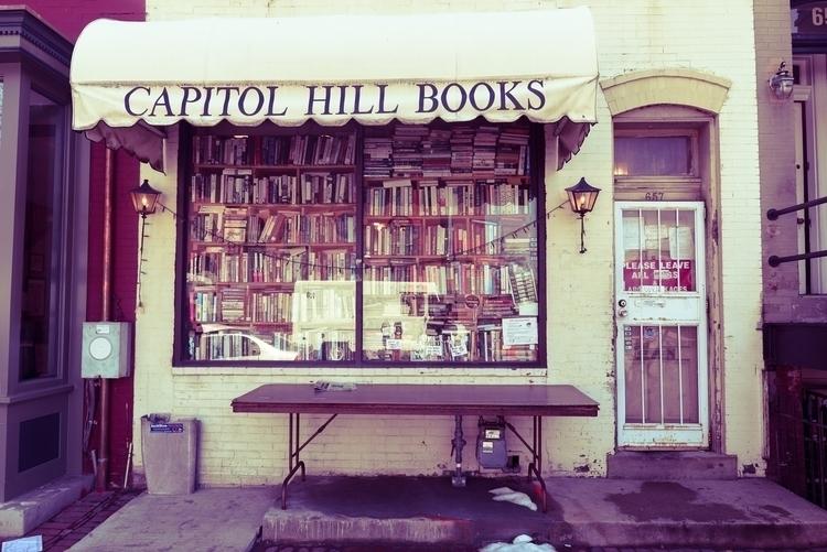 Capital Hill Books. store full  - stephengreaves | ello
