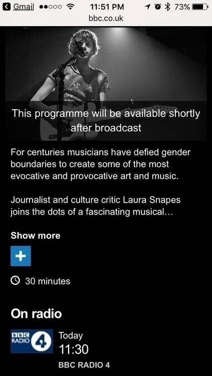 Steve interviewed BBC Radio 4 d - not_weird_queer   ello
