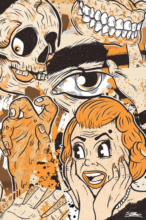 horror! samuelbthorne.com Insta - samuelbthorne | ello