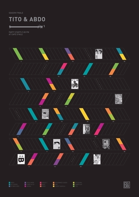 bside, finale, poster, infographic - saeed | ello