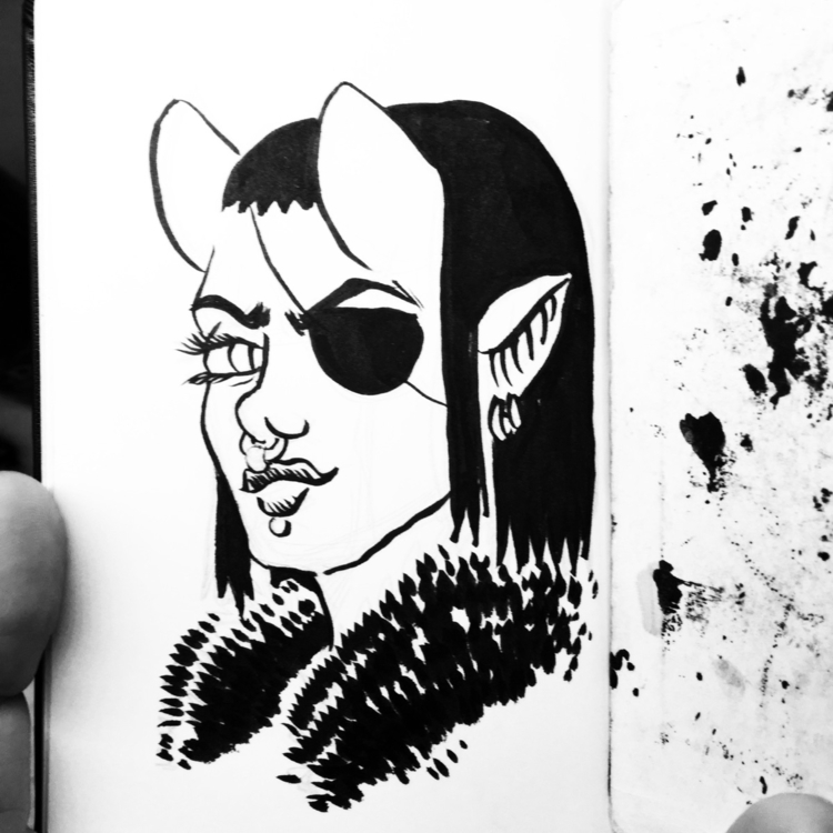 inspired succubus - ink - royallyeric | ello