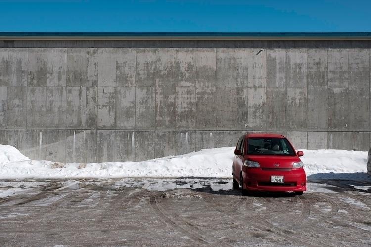 Car Park - Abashiri, Hokkaido, Japan - nickpitsas   ello