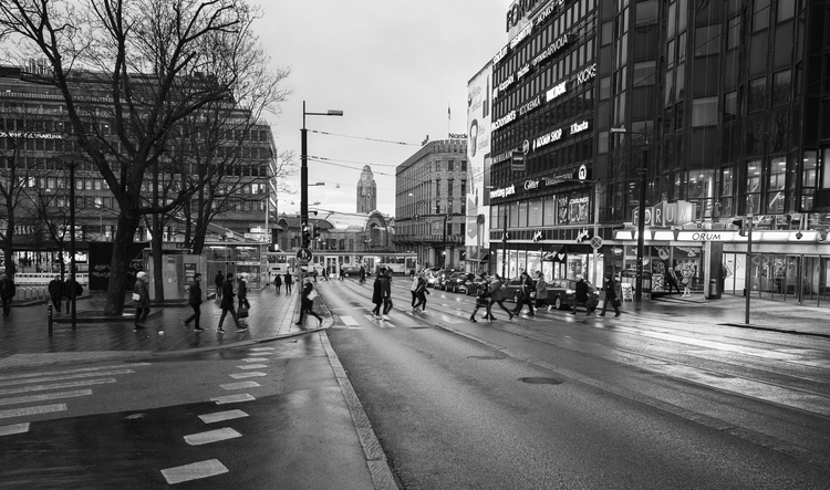 Simonkatu - photography, cityscape - anttitassberg | ello