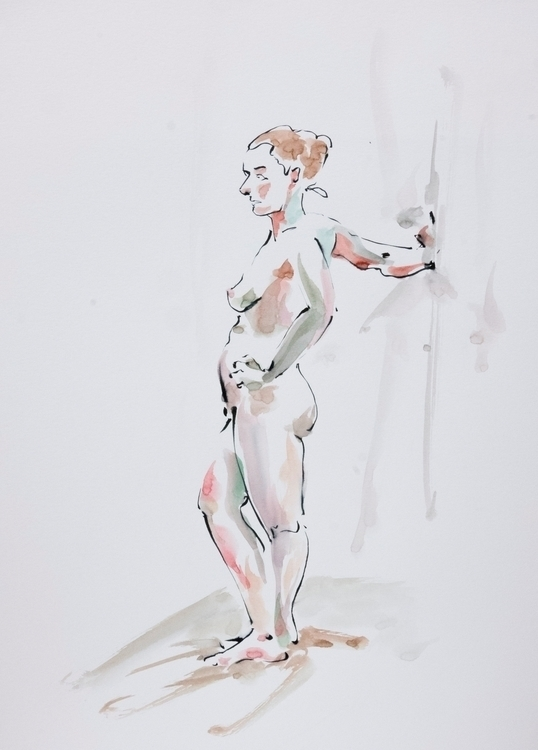 20th March 2 - 15 min poses - lifedrawing, - mickepe | ello