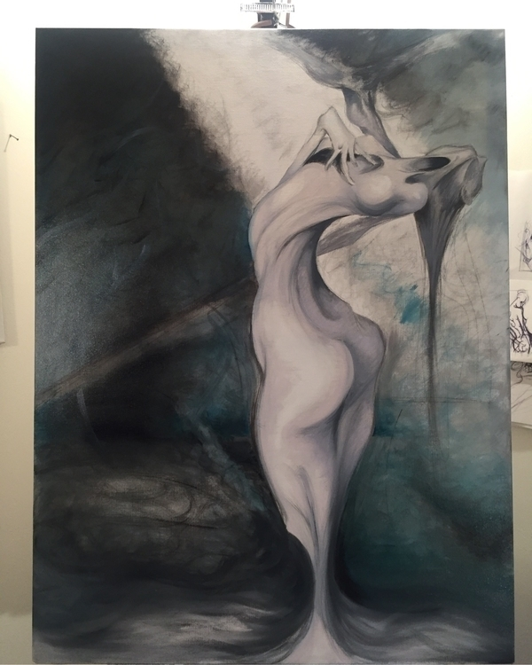 Work progress - art, ugallery, darkart - sumner_crenshaw | ello