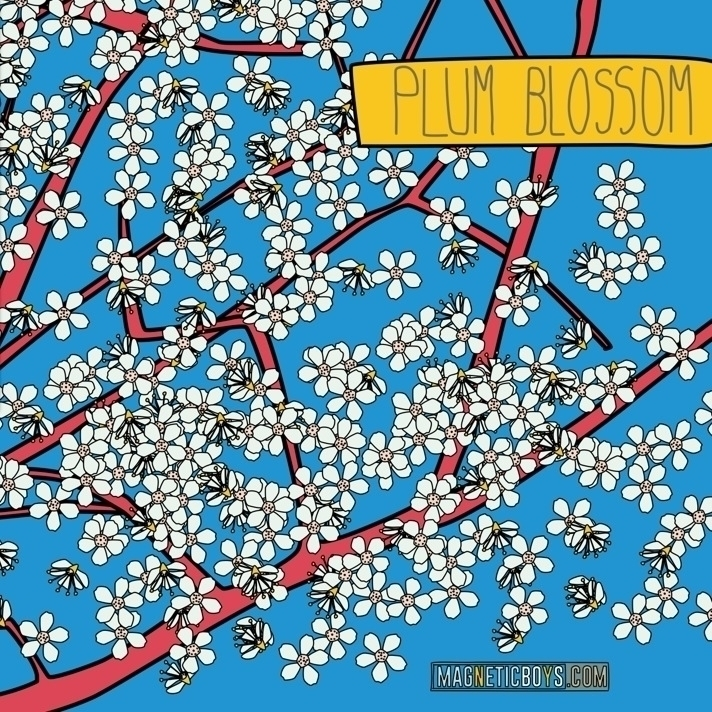 Spring coming - plumblossom, plum - magneticboys | ello