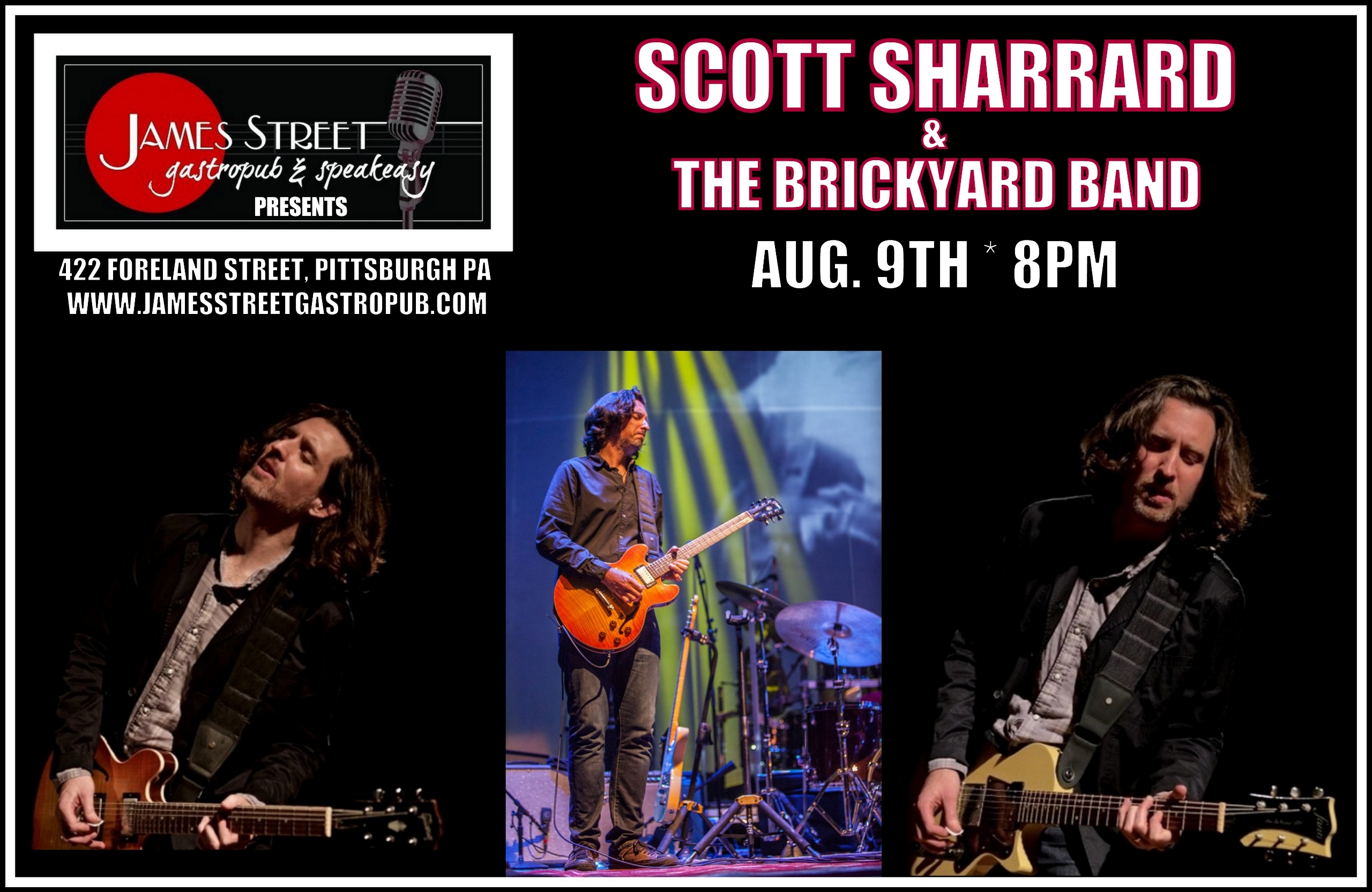 Show announcement Scott Sharrar - soulsouthentertainment | ello