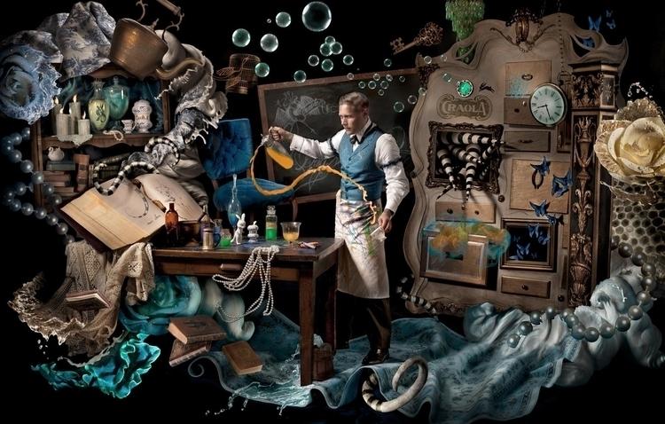 Alchemist, artist portrait surr - ransom_mitchell   ello